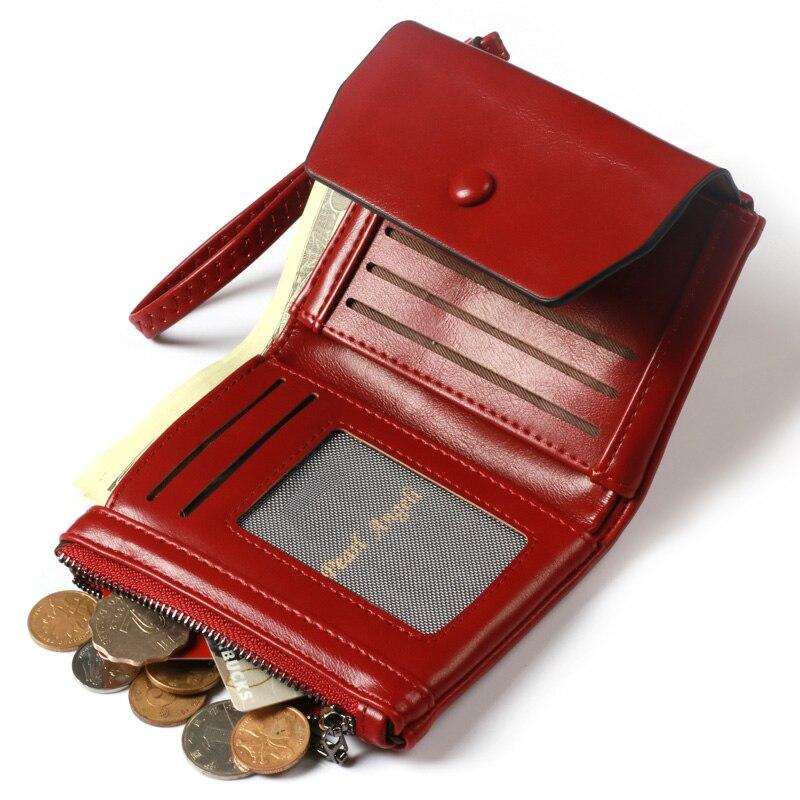 Pearl Angeli Röd Plånbok Kvinnlig Wristlet Kreditkort Telefon - Plånböcker - Foto 6