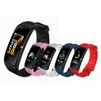 2019 Smart Band Heart Rate Fitness Tracker 0.96inch IPS Color Screen Smart Bracelet Waterproof Wristband Women Smart Watch E58