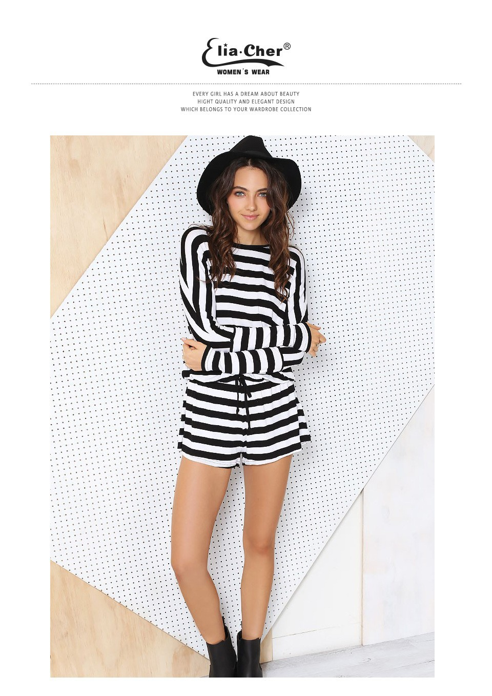 6a9a031dbb60 2017 Summer Active Striped Open Back Jumpsuits Chic Elegant Fashion ...