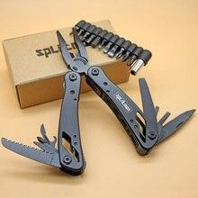Pocket Pliers Multi Purpose Camping Folding Knife Plier MultiTools Fishing Hiking Outdoor EDC Surivial knife Gear Foldable Plier