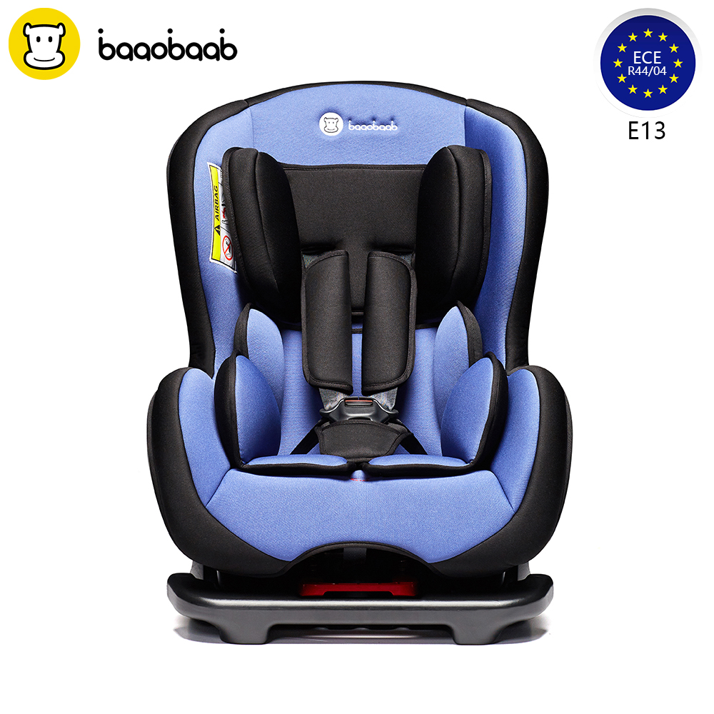 BAAOBAAB 2-in-1 Baby Convertible Car Seat Group 0+/1 Portable Reclining Child Safety Seats 0-18 kg, Birth - 4 Years Old 1 0