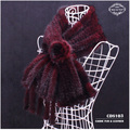2014 New Item CDS103 Women's Knitted Mink Scarves With Tassel