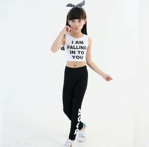 f0e75e89e Online Shop Girls Summer Style Teenage Girl Clothing Sets Children ...