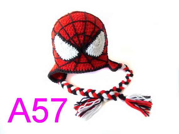 f6f38b751d64f2 Detail Feedback Questions about baby Spiderman Hat Crochet Spider ...