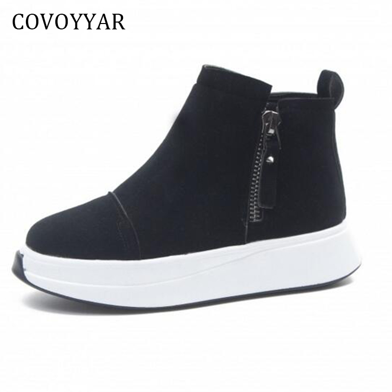 COVOYYAR 2018 Autumn Women Fashion Sneakers High Top ...
