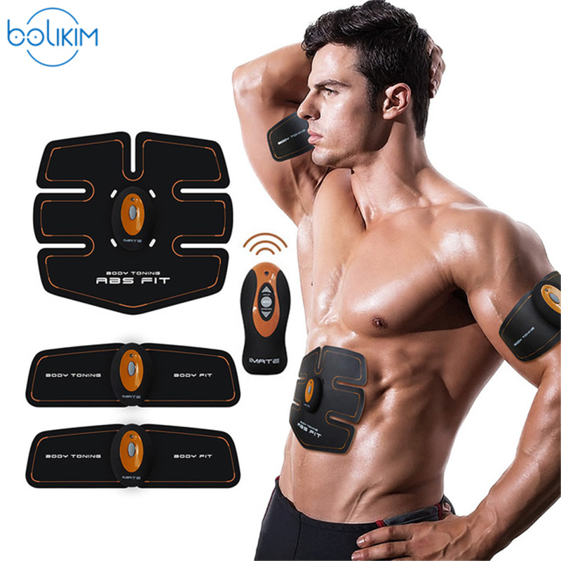 2b04d3a85062a ABGymnic AB Gymnic Electronic Body Muscle Arm Waist Abdominal Massage  Exercise Toning Belt Slim Abdominal trainer