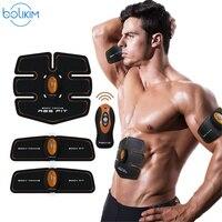 ABGymnic AB Gymnic Electronic Body Muscle Arm Waist Abdominal Massage Exercise Toning Belt Slim Abdominal trainer Machine Belt