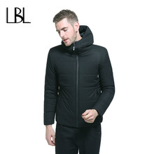 Winter Bomber Jacket Men Thickening Casual Men Short Coat For Male Stand Collar Parka Threaded Cuffs Windproof Warm Snow Coat