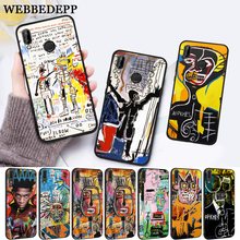 WEBBEDEPP Artist Jean Michel Basquiat Silicone Case for Huawei P8 Lite 2015 2017 P9 2016 Mimi P10 P20 Pro P Smart 2019 P30