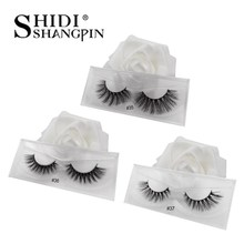 Mink Lashes 3D Mink Eyelashes 100% Cruelty free Lashes Handmade Reusable Natural Eyelashes Popular False Lashes Makeup Faux cils