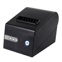 80mm thermobondrucker XP-C260K USB + RS232 + LAN schnittstelle positions-drucker