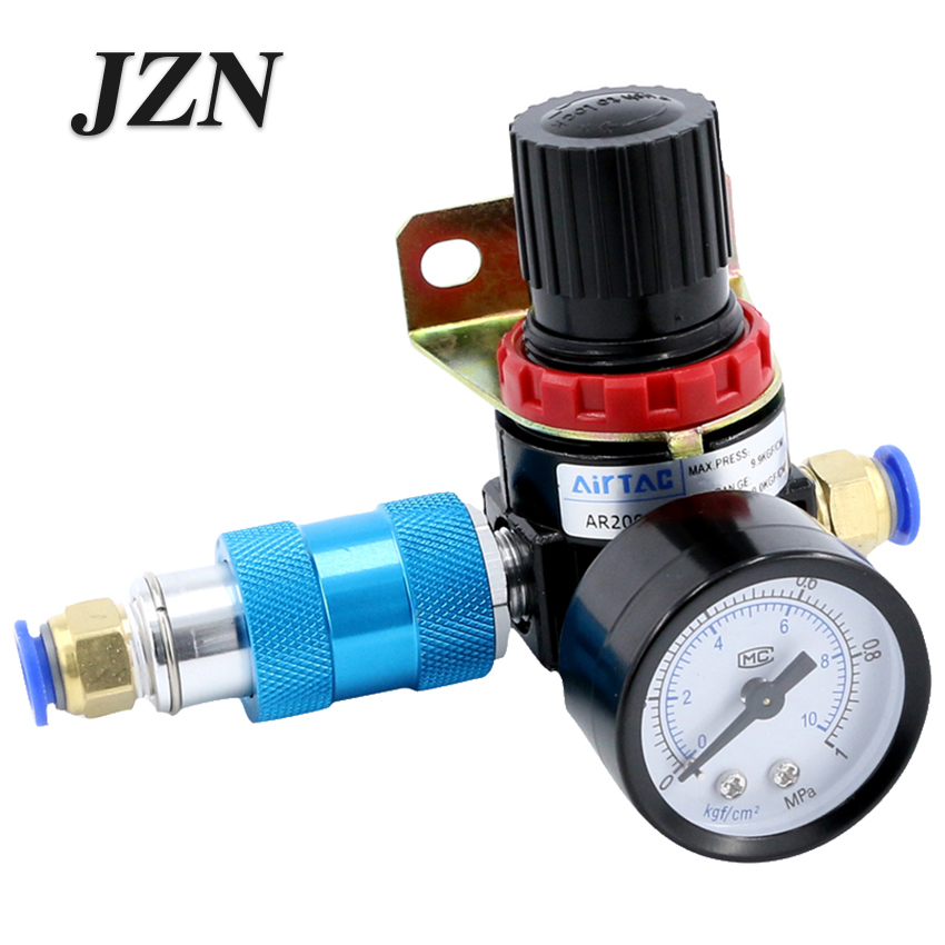 Free shipping ( 1 PCS ) Air Relief Valve Supply Pneumatic Air Pressure Regulator AR2000 sns regulator pressure reducer valve pneumatic components ar2000 airtac type