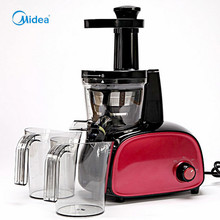 Midea Multifunction thermomix Red juicer extractor ABS Plastic low speed 1.0L Auto Pulp Ejection Juicing/Stirring Slow speed