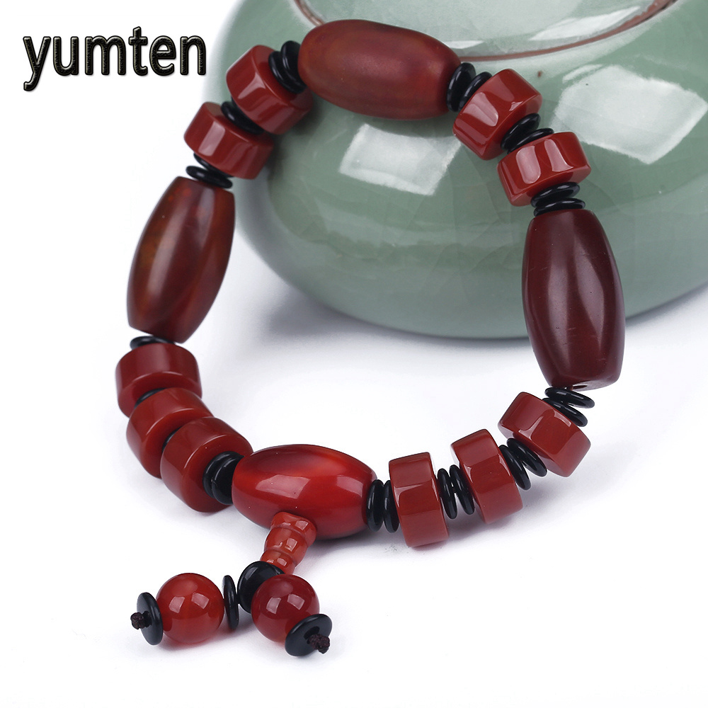 Yumten Men Fashion Bracelet Fine Jewelry Agate Survival Punk Popular Handmade Button Pulseras Linkin Pulseras Wholesale 5 PCS 90kgs capacity digital refrigerant scale for hvac and refrigeration refrigerant charging scale