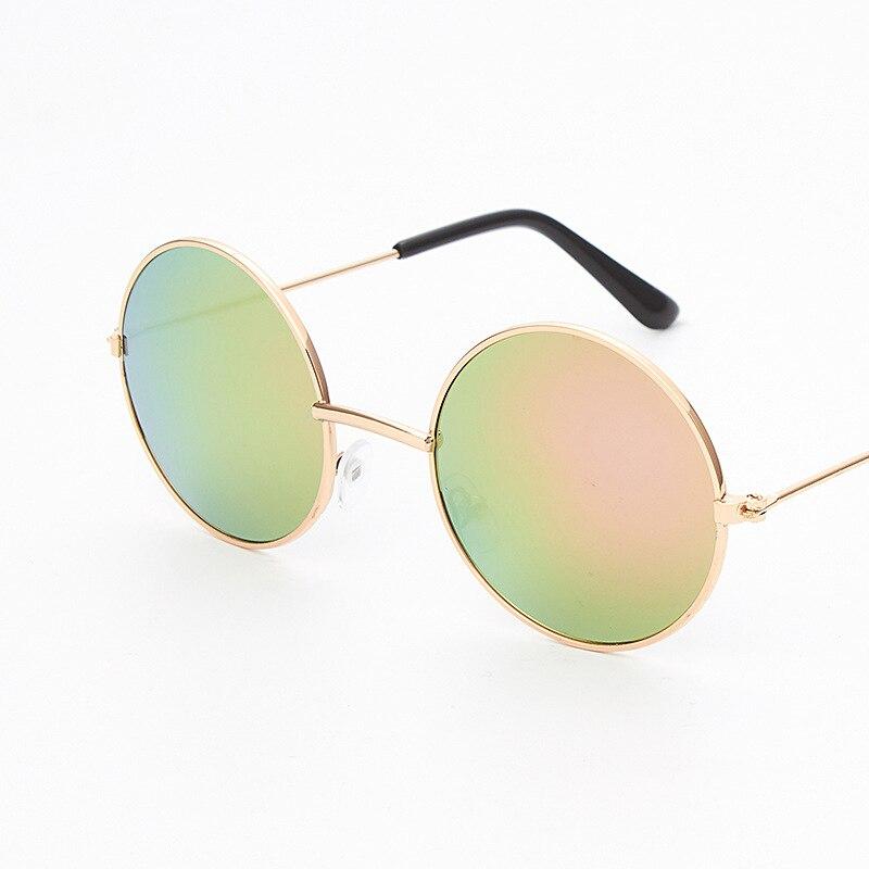 5dcd19642 JackJad Estilo SteamPunk Rodada Do Vintage Óculos Polarizados Clip On Lente  Removível Marca Designer Óculos de