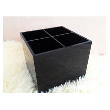 2pcs/lot Fashion Luxury Cosmetic Box Acrylic Makeup Brush Boxes Big Desktop Storage High Quality