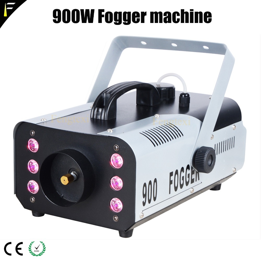 Stage Lighting Effect 12x3w Led Rgb 3in1 Charm Colorful Fog Smog Machine With Direction Ajustable Smoke Device Head 1.5l Tank Capacity