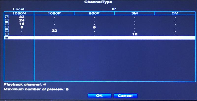 32CH Hybrid 5 in 1 NVR TVI CVI AHD CCTV DVR Operation Picture 06