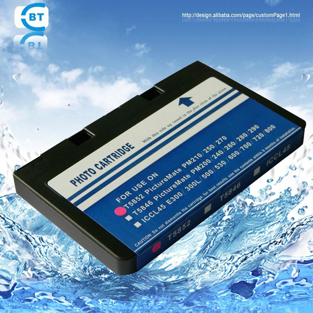 1PCS-kompatibilis epson t5852 tintapatron a PictureMate 210/235 / 250/270/310 PictureMate PM215 nyomtatóhoz