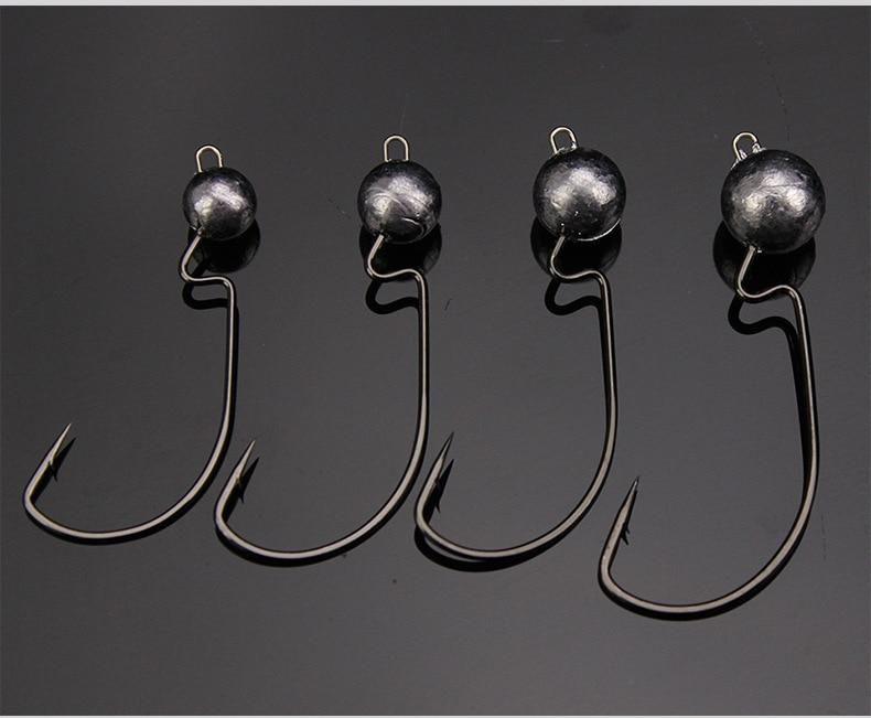 Рыбалка на офсетные крючки