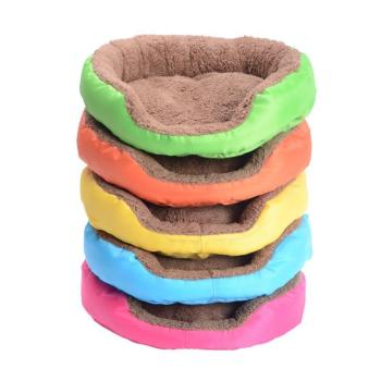 4 Colors Pet Dog Bed Winter Warm Dog House For Small Large Dogs Soft Pet Nest Kennel Cat Sofa Mat Animals Pad Pet Supplies S/M/L 1