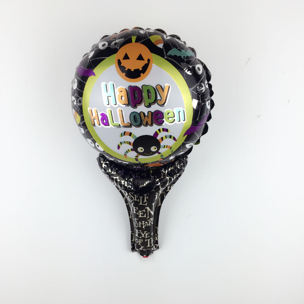 XXPWJ Free Shipping New Handmade Halloween Aluminum Balloon Children's Toy Party
