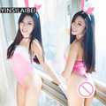 Bunny Suit Rabbit Sexy Cosplay Women Erotic Lingerie Sexy Hot Erotic Baby Doll Costumes Underwear Sex Dress Nightwear QQ086#07