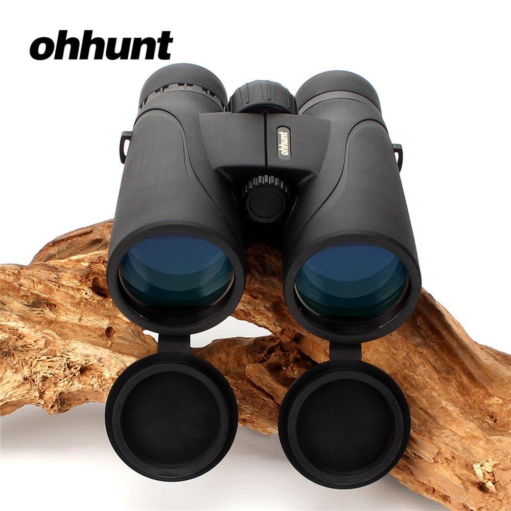 ohhunt Binoculars A1-10X50 Camping Hunting Scopes Bak4 Roof Prism Binocular Telescopes Optics Lens Support Tripod Mounting бинокль cl zj 01 cl zj 01 lightweight compact folding 21 roof prism binoculars