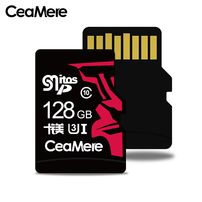 Image 2 - CeaMere 256 ГБ 128 Гб 64 Гб карта памяти U3 UHS 3 32 ГБ Micro sd карта класс 10 UHS 1 флэш карты памяти Microsd TF/sd карта s для планшета-in Карты памяти from Компьютер и офис