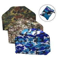 145x61x117cm Outdoor Barbecue BBQ Cover 210D Waterproof Polyester Camouflage Series UV Protection Oven Grill Dust proof Cover