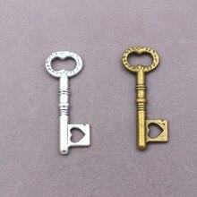 16pcs wholesale metal alloy vintage charms  Key Charms  Key pendant  for diy fashion jewelry 30pcs wholesale metal alloy vintage wrench tool charms for diy fashion jewelry