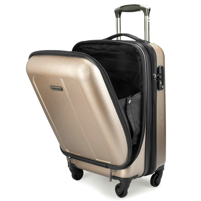 Men and Women Fashion Commercial Travel Suitcase Scratch ...