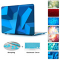 3D Image Blue Water Pattern Print For macbook pro case 13 15 Inch Laptop Sleeve For macbook air case 11 13 15 inch