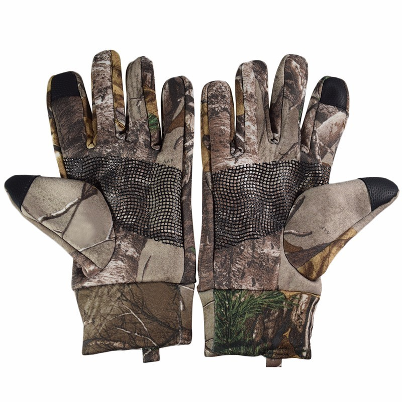 1 Pair Mountain Climbing Skiing Gloves Warm Windproof Non-slip Wearproof Gloves for Men and Women Touch Screen Gloves