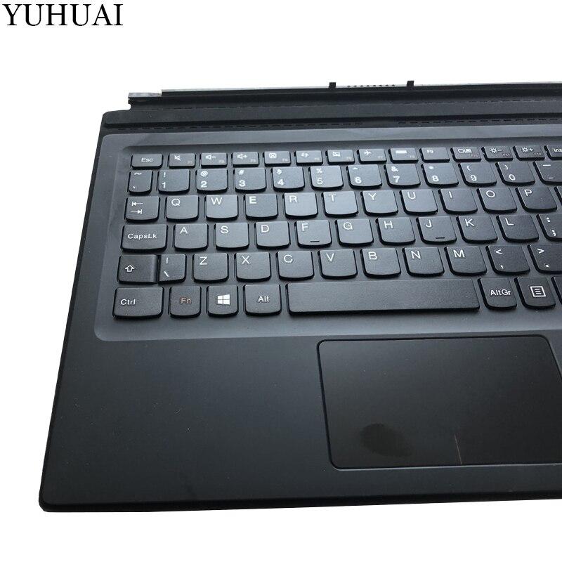 Lenovo Miix 720 Folio MIIX 5 Pro US Keyboard  Docking W//Backlight Palmrest Cover