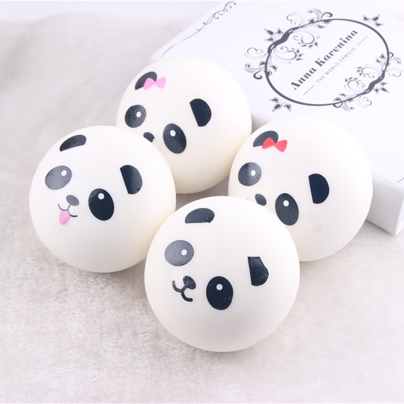7/10 CM Slow Rising Squishy Panda Toys Bread Cream Scented Slow Rising Toy PU Cell Phone Keys Pendant Accessories
