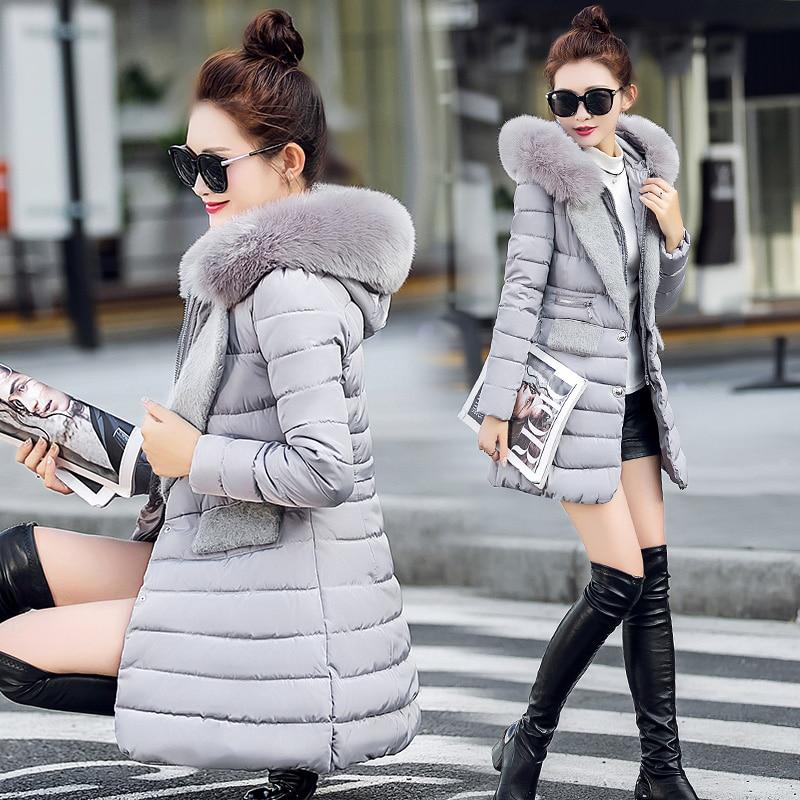 ФОТО TX1140 Cheap wholesale 2017 new Autumn Winter Hot selling women's fashion casual  warm jacket female bisic coats