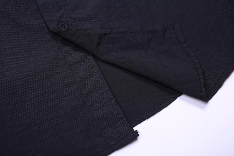 Herreskjorter Chemise Shirt Plaid Top mandlig Camisa xadrez maskulin - Herretøj - Foto 5