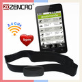 Heart Rate Monitor Sensor Strap Chest Belt for Wahoo Strava Runtastic Endomondo Bluetooth Heart Rate Belt