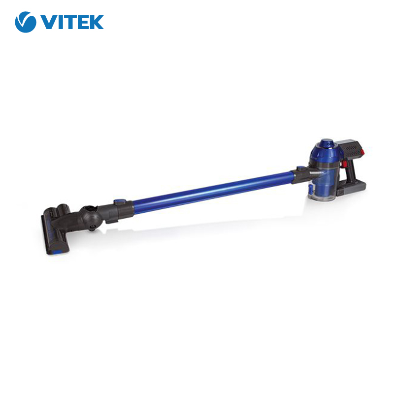 Vacuum Cleaner Vitek VT-1885 Home Portable Powerful cyclone Handheld Dust Collector Stick wireless dry cleaning vertical vacuum cleaner bosch bch6ath18 home portable rod powerful vacuum cleaner handheld dust collector stick zipper