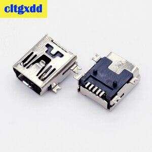 cltgxdd Mini USB SMD 5 Pin Female Mini B Socket Connector Plug charging Jack