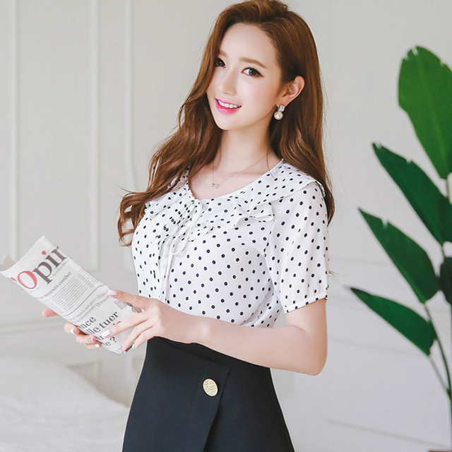 Dots Brand Clothing Blouse