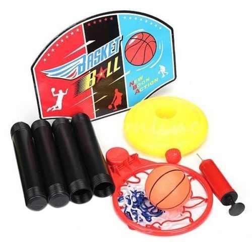 Регулируемая игрушка баскетбольный набор для детей спортивный поезд