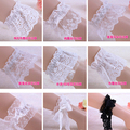 Princess sweet lolita sock accessory Fluffy lace decoration ankle socks vintage gentlewoman lace trimmings foot belt more types