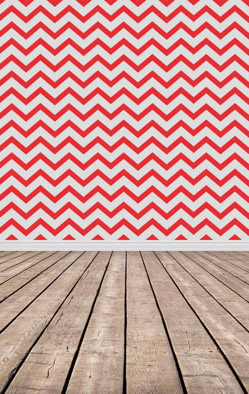 8X12ft Thin fabric cloth Printed photography background Chevron backdrop F-833
