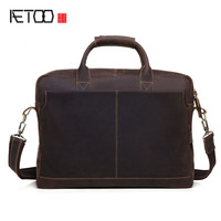Europe And The United States The Trend Of Leather Men S Business Briefcase Men S Mad