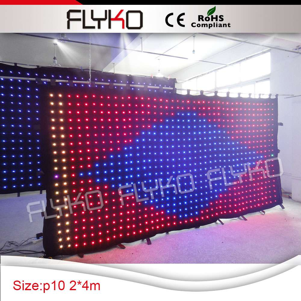 Led curtain concert - Aliexpress Com Buy 4x2m Free Shipping Best Soft Led Curtain Screen For Concert Dj Stage Backdrops High Quality And Stable From Reliable Led Curtain