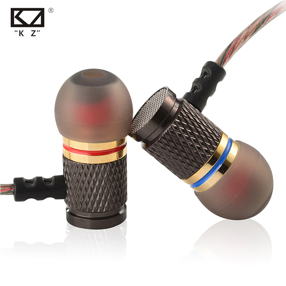 100% Original KZ EDR1 Earphone In-Ear Bass HIFI In-ear phone Music Enthusiast Special Use Earburd With MIc or Not Decide on you