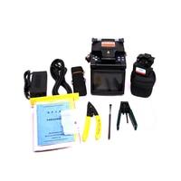 DVP 760 Multi Language Fiber Optic Fusion Splicer Fusion Machine with fiber Cleaver FTTH Tool Kit