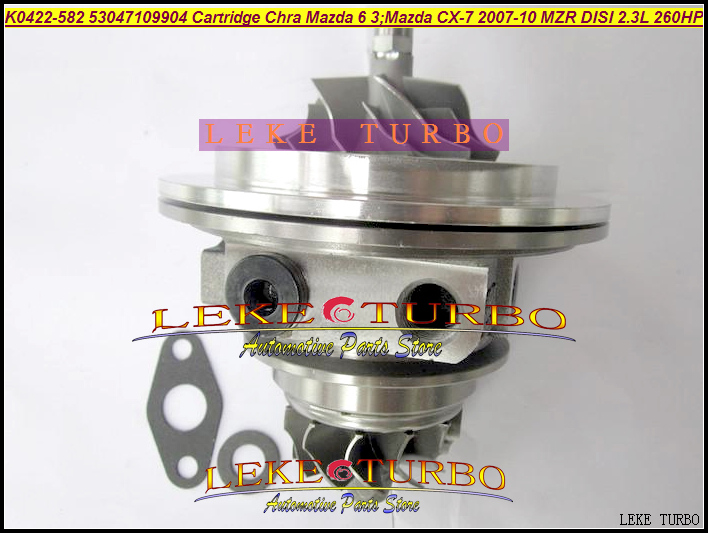 Turbo Chra Core Cartridge K0422-582 K0422-581 K0422 582 53047109907 L33L13700B E L3Y11370ZC For Mazda 6 3 CX-7 MZR DISI NA 2.3L alviero martini 1a classe underwear бельевая майка